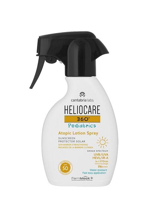 Heliocare 360º Pediatrics atopic lotion spray image