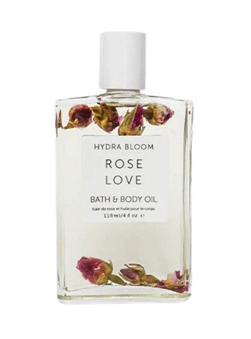 Rose body oil
